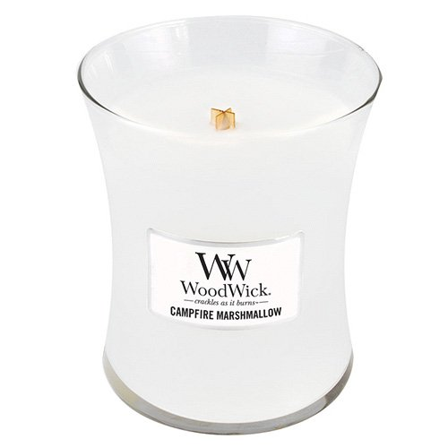 WoodWick Campfire Marshmallow Medium Jar Candle