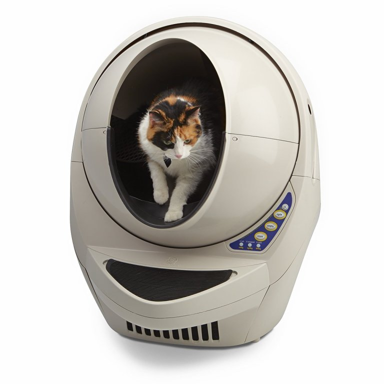 Automatic Self-Cleaning Litter Box