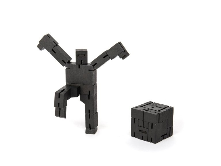 Areaware Micro Ninjabot Black Puzzle