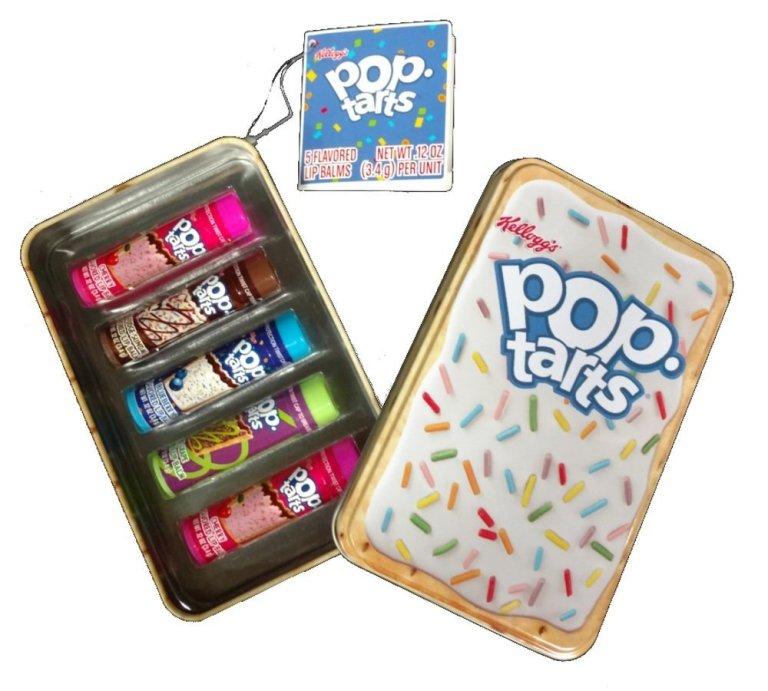 Pop Tarts flavored lip balm gift set