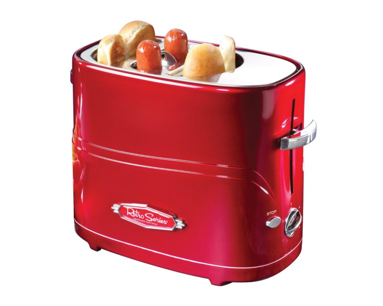 Retro Series Pop-Up Hot Dog Toaster