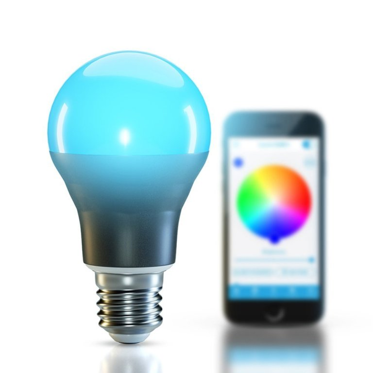 smartphone-controlled-lightbulb